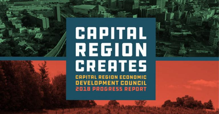 Capital Region 2018 Progress Report Cover