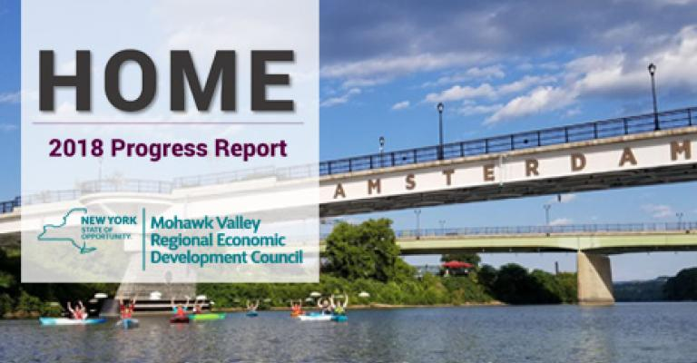 Mohawk Valley 2018 Progress Report Cover