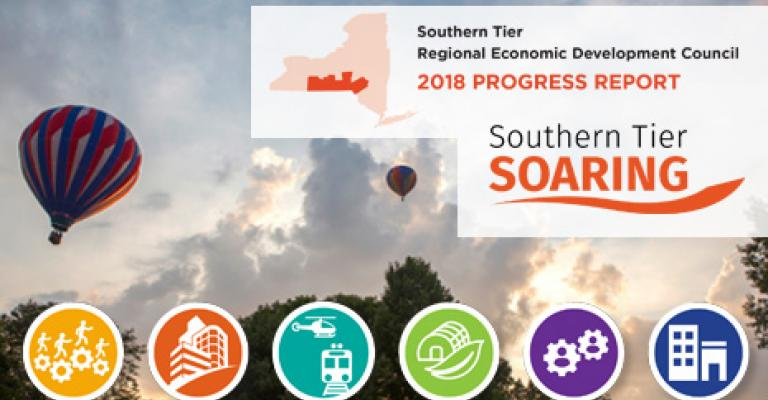 Southern Tier 2018 Progress Report Cover