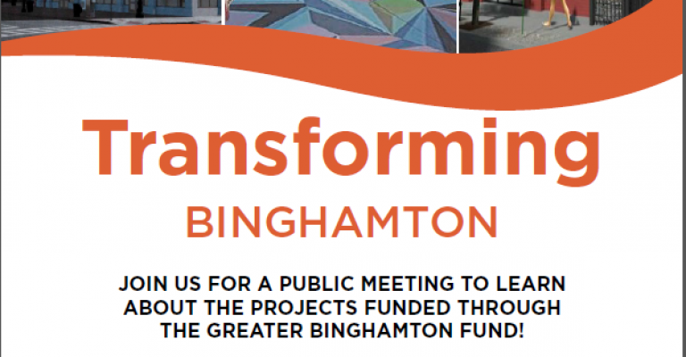 Flyer - Binghamton Public Meeting
