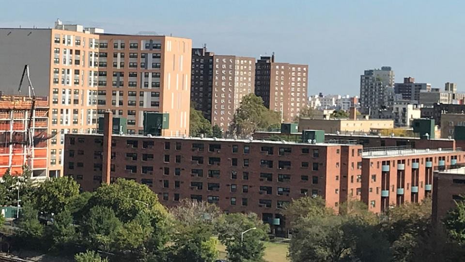 City Skyline of the Bronx